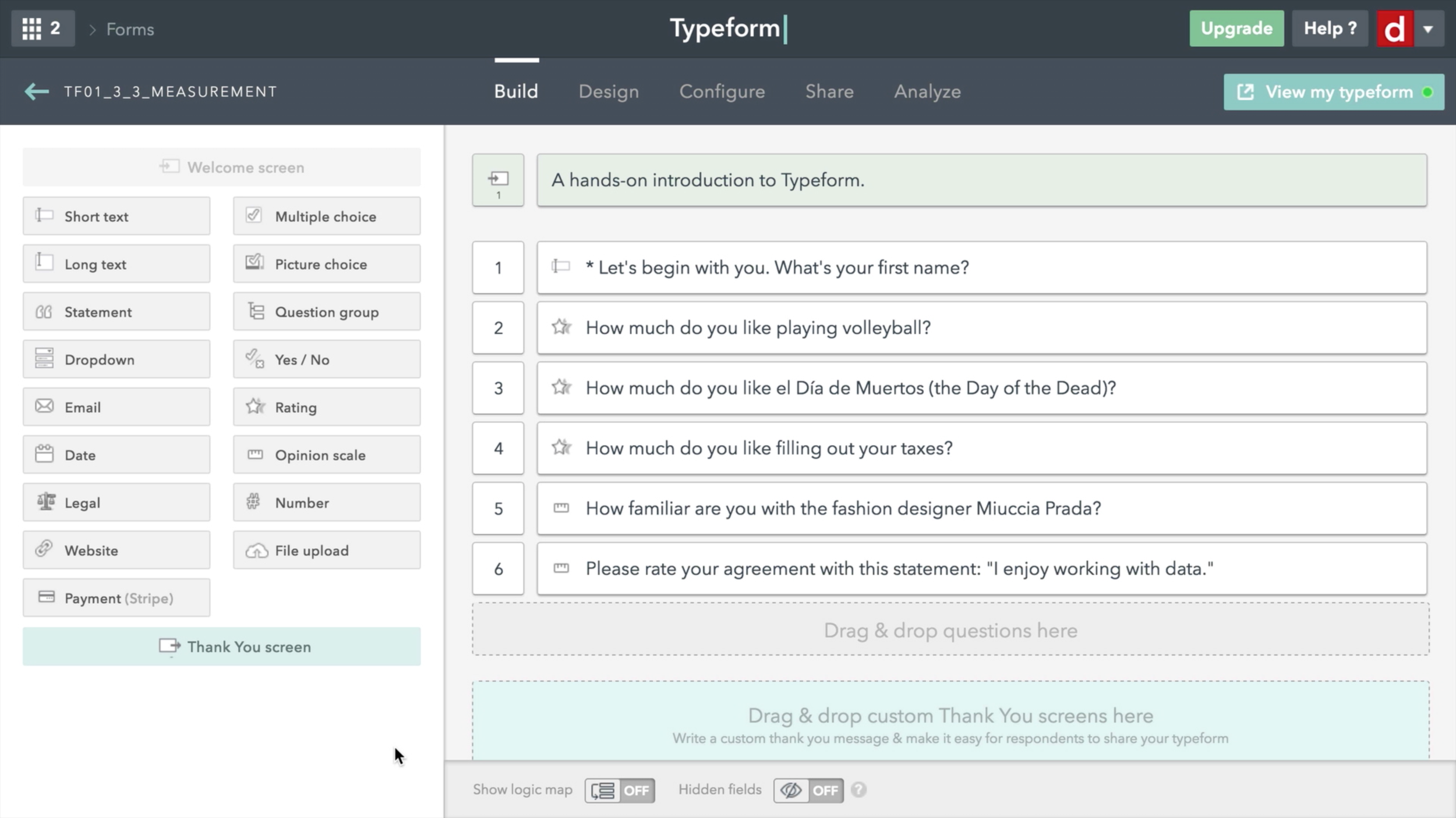 Top 5 UX research tools - typeform
